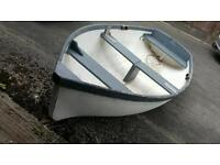 Rowing boat tender punt fishing boat