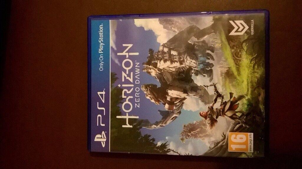 PS4 HORIZON - Zero Dawn