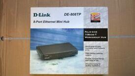 Ethernet Network Mini Hub