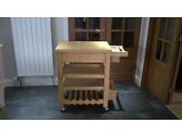 Really nice Wooden Butchers Block, very sturdy. Originally bought from John Lewis.