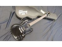 Gibson USA SG Special Ebony inc Gibson Fitted Case