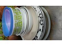 Free plates & bowls