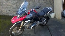 2013(63) BMW R1200 GS TE ABS ONLY 3600 MILES BMW SAT NAV SERVICE HISTORY 2 OWNERS