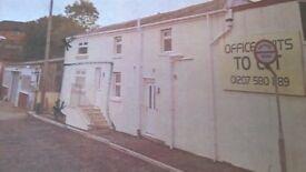 Ground floor office premises located at Unit 4, 25/27 Derwent St, Blackhill, Consett, DH8 8LR.