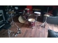 Adult Drums Red