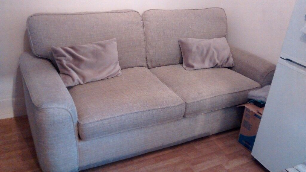 Large Bhs 2 Seater Sofa