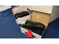 Steel toe cap work boots two pairs, size 5 and size 6
