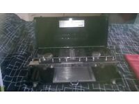 3 burner camping gas cooker with grill ex condition