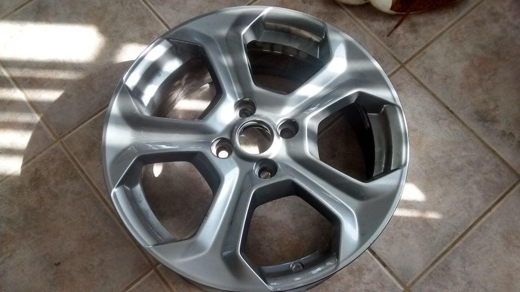 Ford Fiesta St Alloy Wheel 17 Quot Rock Metallic 2014 To 2016