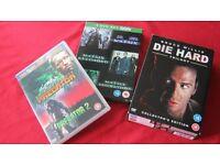ACTION MOVIE DVD'S BUNDLE