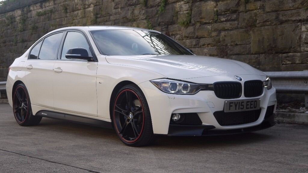2015 bmw 320d m sport m performance white auto fully. Black Bedroom Furniture Sets. Home Design Ideas