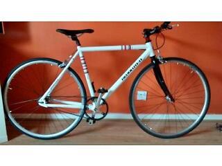 Single Speed Carbon belt drive Hybrid bike