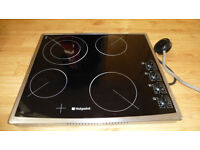 Hotpoint cooker hob - used