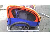 Double Child Bike Trailer only £55
