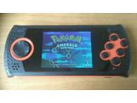 Handheld games console with 1000 top games built in!