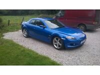 **Swap\part ex** 2004 mazda rx8 238bhp 6 speed manual, 12 months MOT, coilovers + lots of extras