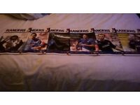 Rangers programs and magazines. Good condition. from1988 - 2005 57 in total