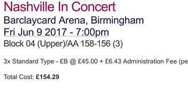Nashville tickets for Birmingham