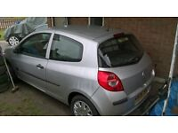 2006 Renault Clio 1.4 Expression long mot Spares or repairs