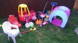 Garden/outdoor children's toys