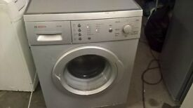 bosch Silver Washing machine.....free delivery
