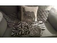 king size zebra bedding set