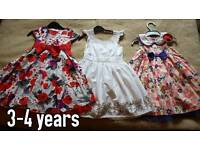 Dresses agar 3-4 years