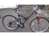 MILLER DUEL DZX MOUNTAIN BIKE UNISEX FULL SIZE FULLY ADJUSTABLE SPECIALIZED