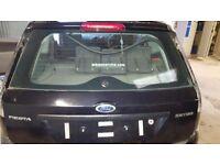 Ford Fiesta boot lid