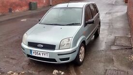 For Sale Ford Fusion 2 1.6 16v petrol cheap car 54 plates green sleep 12 mot