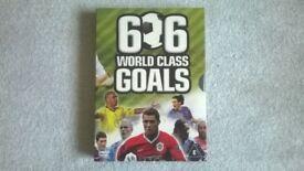 Football 606 World Class Goals Dvd Box Set-VERY GOOD CONDITION!
