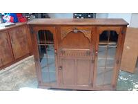 Vintage Secretaire Escritoire Bureau Bookcase Writing Desk