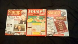 JOB LOT OF STAMP AND COIN MART MAGAZINES £1 EACH