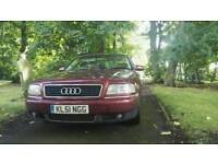 2001 AUDI A8 3.7 QUATTRO FULL LEATHER FULL ELECTRIC FULL HISTORY TRACKER ETC