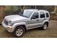 2003 Jeep Cherokee 2.8 CRD Limited Auto Full MOT