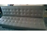 Sofa Bed - Grey - 4 months old
