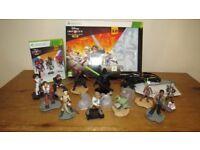 Xbox 360 Disney Infinity 3.0 Star Wars Starter Pack, 3 x games & Massive Star Wars Character Bundle