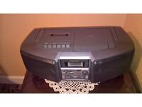 CD Tape Radio RX - DS5 Portable Stereo