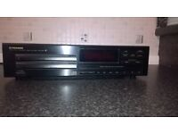 Pioneer twin-tray compact disc player