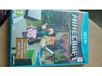 Wii u game minecraft