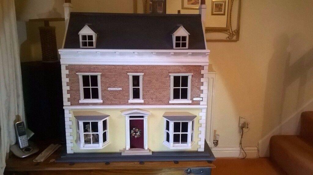 Large illuminated Dolls House