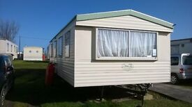 Static caravan Atlas Oasis Super. Good condition. Based Felixstowe Suffolk.