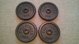 5kg Pro Power weight plates