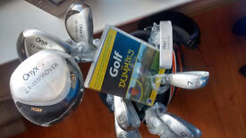 *Reduced* NEW - Golf Clubs, Bag, Balls and DVD