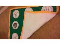 celtic blanket hand made