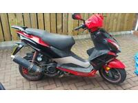 2013 125 moped