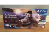 PS4 VR Aim Controller & Farpoint - Brand New Sealed