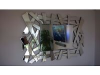 Stunning decorative large mirror, excellent condition