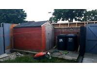 Free shed for collection
