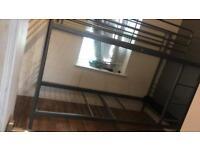 Grey ikea bunk beds